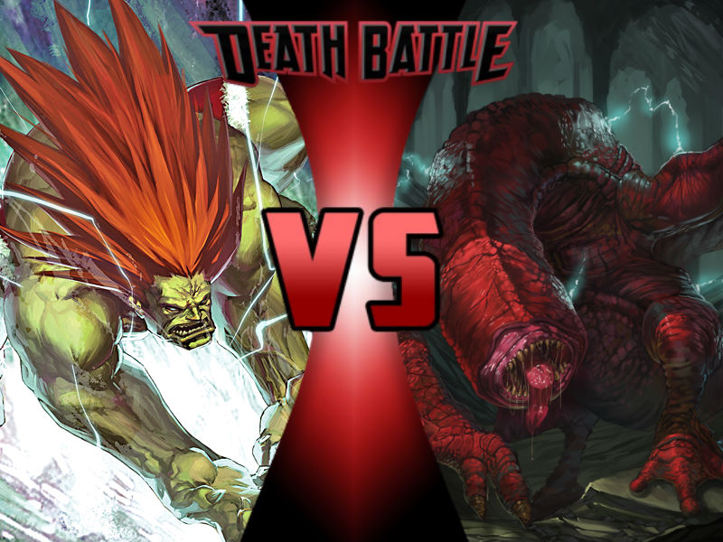 Blanka vs Red Khezu by ToxicMouse77