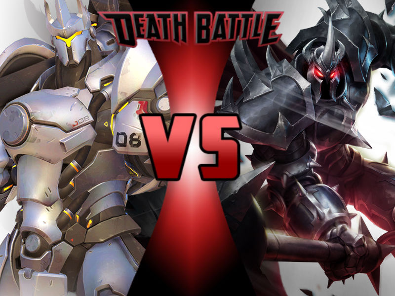 Reinhardt vs Mordekaiser by ToxicMouse77