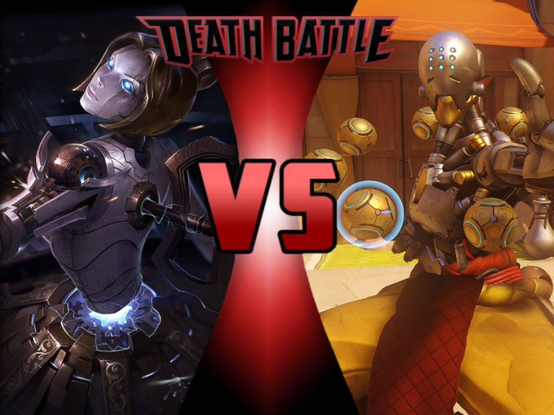 Orianna vs Zenyatta by ToxicMouse77