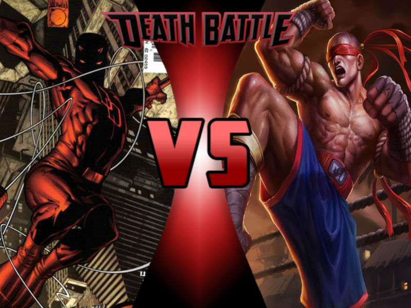 Daredevil vs Lee Sin by ToxicMouse77