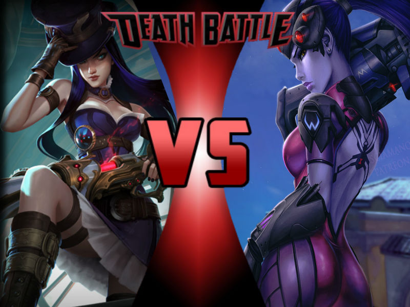 Caitlyn vs Widowmaker by ToxicMouse77