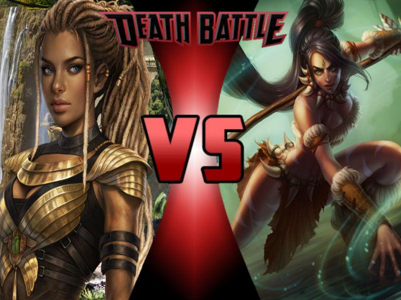 Maya vs Nidalee by ToxicMouse77