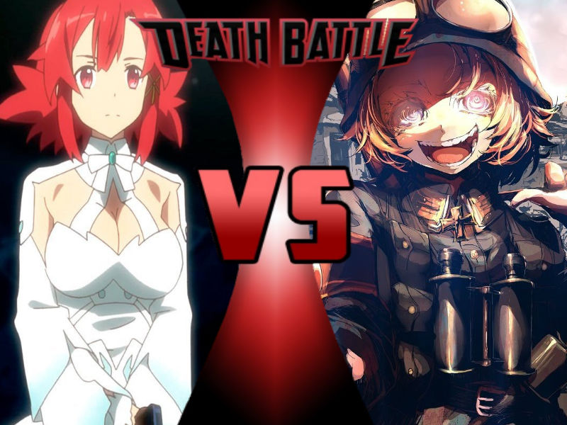 Izetta vs Tanya by ToxicMouse77