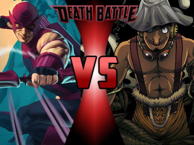 Hawkeye Vs Usopp By Toxicmouse77-da96ic5 by ToxicMouse77
