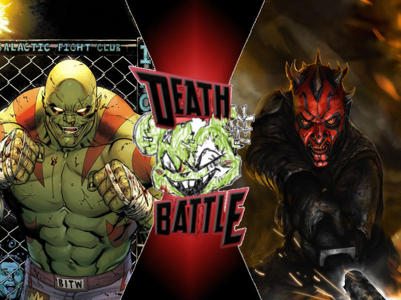 Drax vs Darth Maul by ToxicMouse77