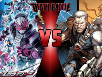 Kamen Rider Zi-O vs Cable by ToxicMouse77
