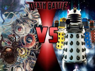 Beholders vs Daleks