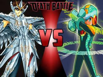 Pegasus Seiya vs Megaman EXE