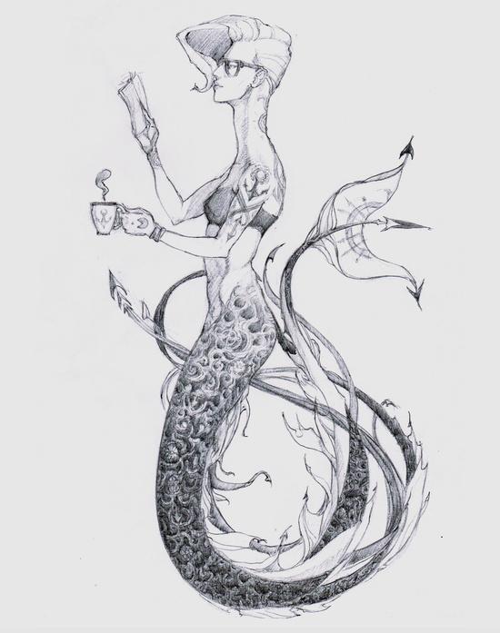 mermaid by DeliciousBorsch