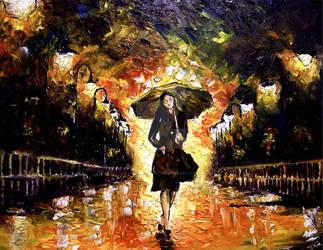 Beauty of the Rain by MoonpigsART