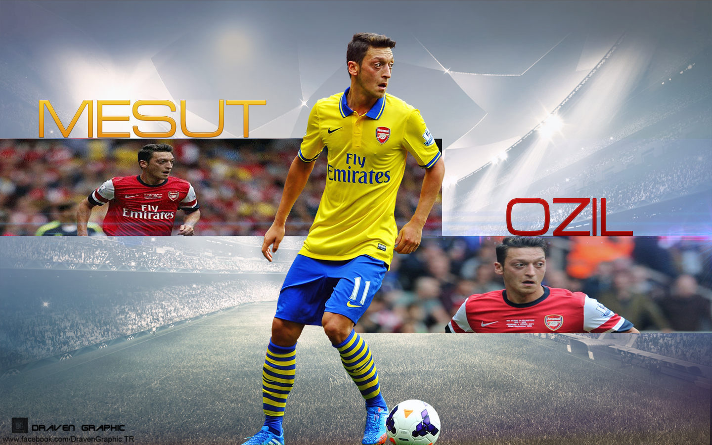 Mesut Ozl By DravenGraphic On DeviantART