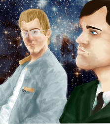 Rhett and Link by d0-re-m1