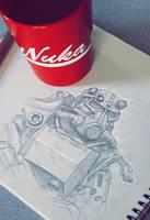 Power Armor Sketch by velocitti