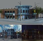 Vancouver Architecture - Gastown Building Model