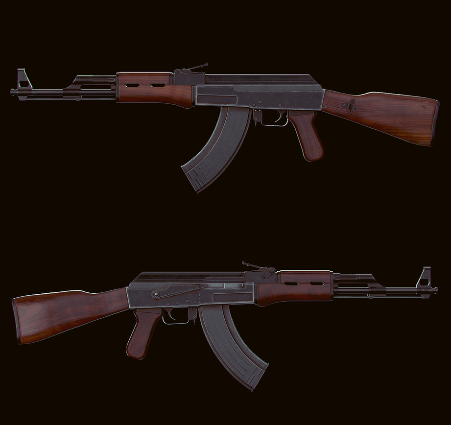 AK-47 Model by velocitti