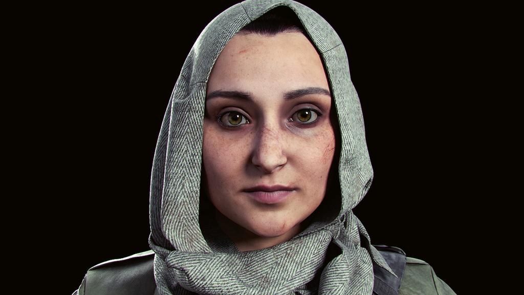 Bryn - Character Model Head by velocitti