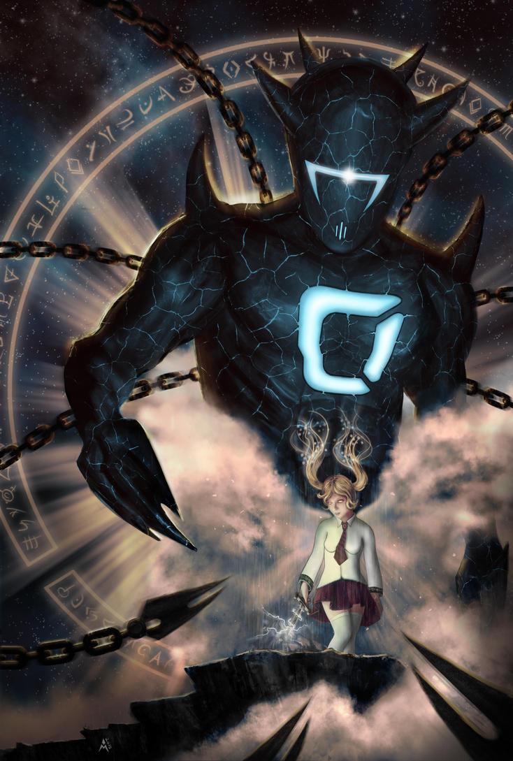 cubebrush demon by infleims42