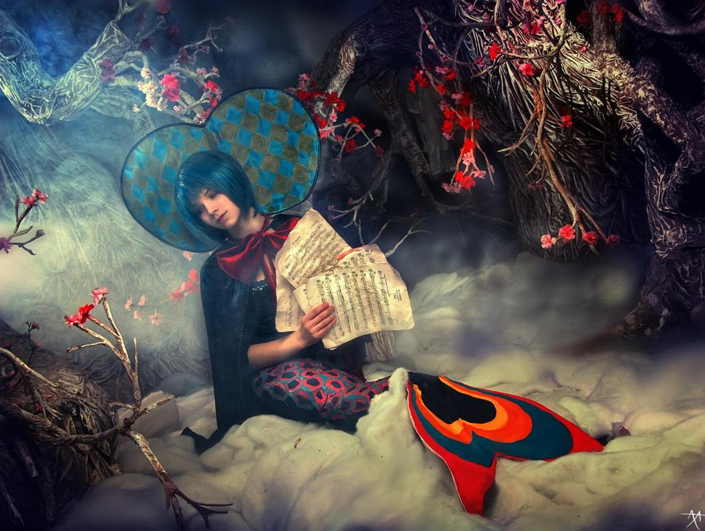 Madoka Witches - Oktavia von Seckendorff - Sayaka? by Muffin-Kiki