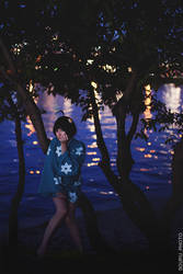 Nisemonogatari Cosplay - Tsukihi Phoenix - Hide! by Muffin-Kiki