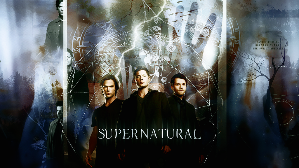 Supernatural Wallpaper by maybebec on DeviantArt