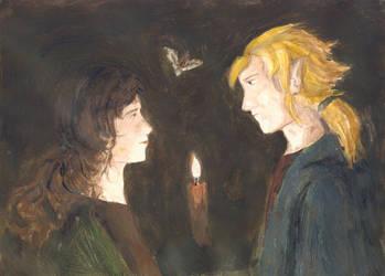 Do candles pity moths? by Gwenniel