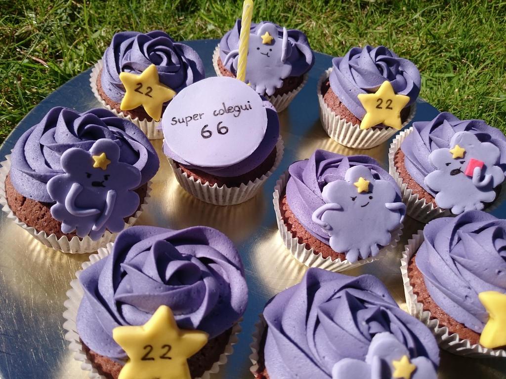 Cupcakes de dos chocolates de la princesa bultos by kytxu
