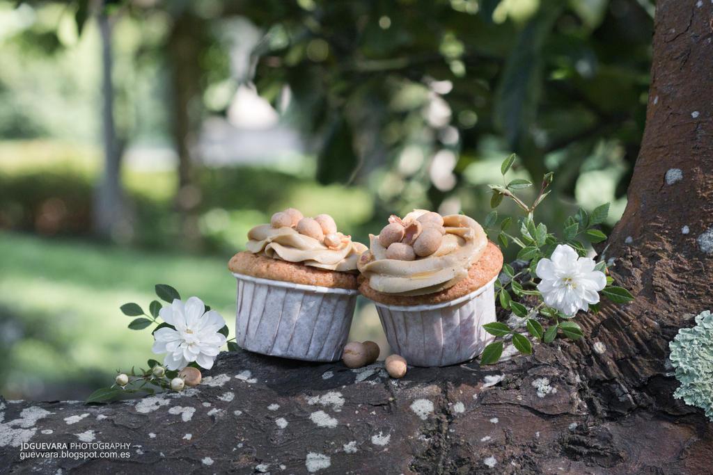 Cupcakes de crema de cacahuete by kytxu