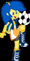 Equstrian Girls me soceer time (football)