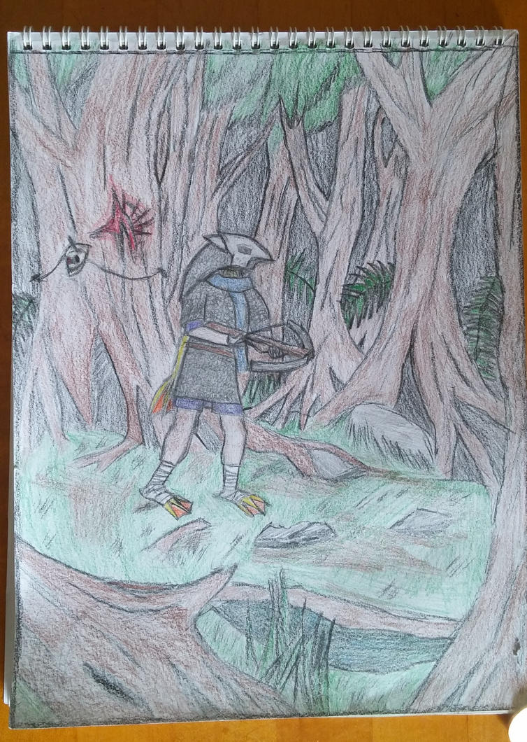 Ikam, Cassian Forest by AcridTlaloc