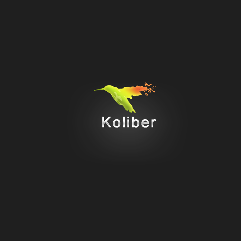 Koliber - my logotype by minQr