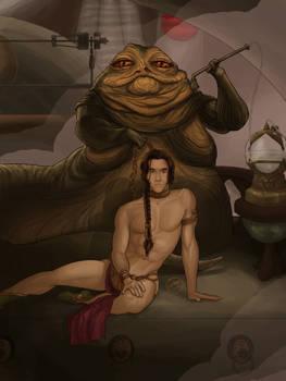 Genderbent Slave Leia
