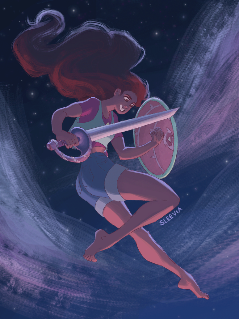 Yay I finally drew Stevonnie! I love them so much   I hope I was able to do them justice! rebloggable version here