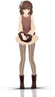 - MMD NC - Mocca by NoUsernameIncluded