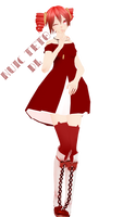 MMD DL - NUIC Teto by NoUsernameIncluded