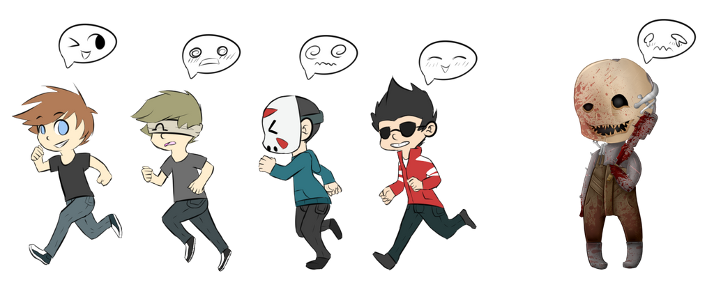 Runnin (Chibi Fan Art) [WIP] by Kliniki on DeviantArt H20 Delirious Drawings