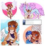 Sketch Dump [Kid Icarus]