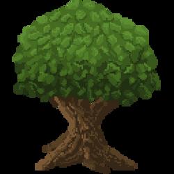 Pixel Art Tree