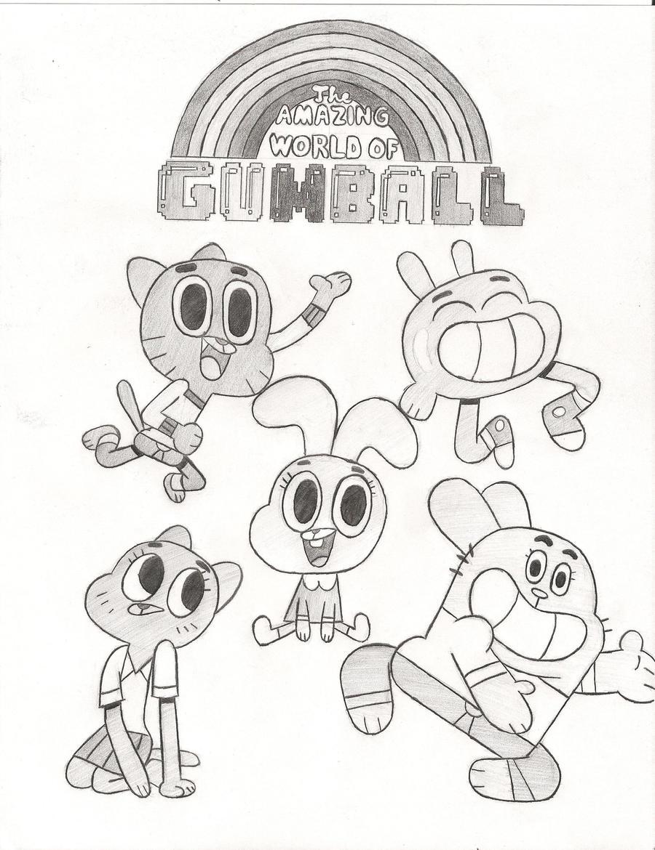 The Amazing World Of Gumball By TheAljavis On DeviantArt
