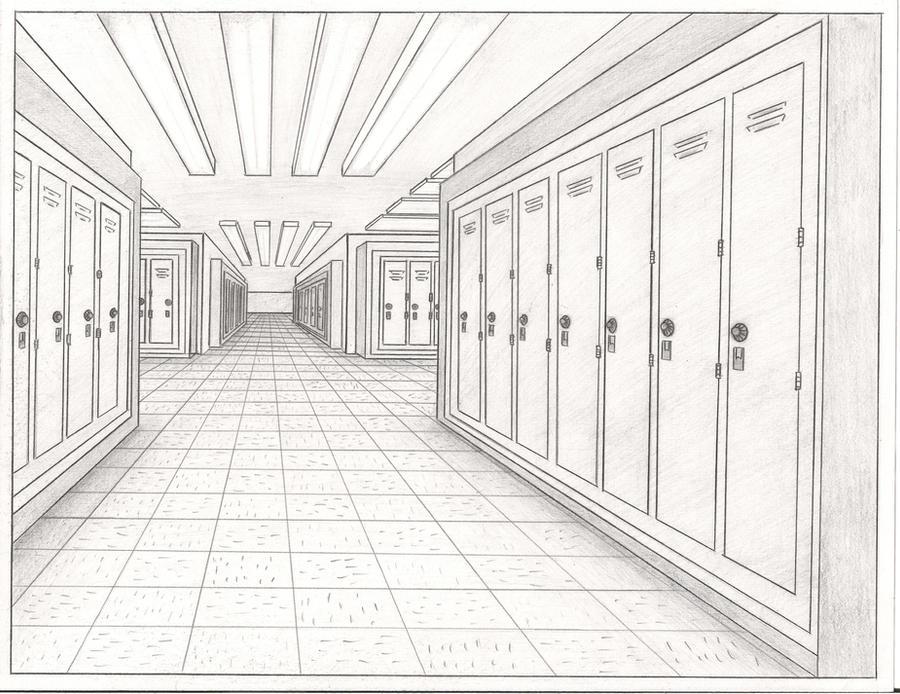 school hallway clip art - photo #32