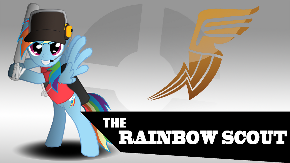 Rainbow Scout Wallpaper by TheAljavis