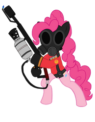 Pinkie Pyro (Vector) by TheAljavis