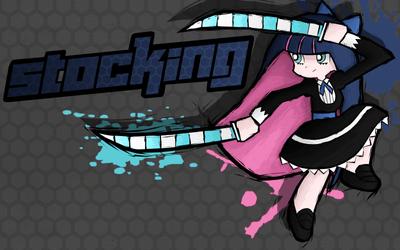 Fighting is Magic- Stocking by TheAljavis