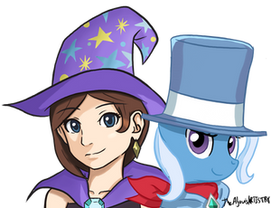 The Great and Powerful Ones  (Trucy and Trixie )