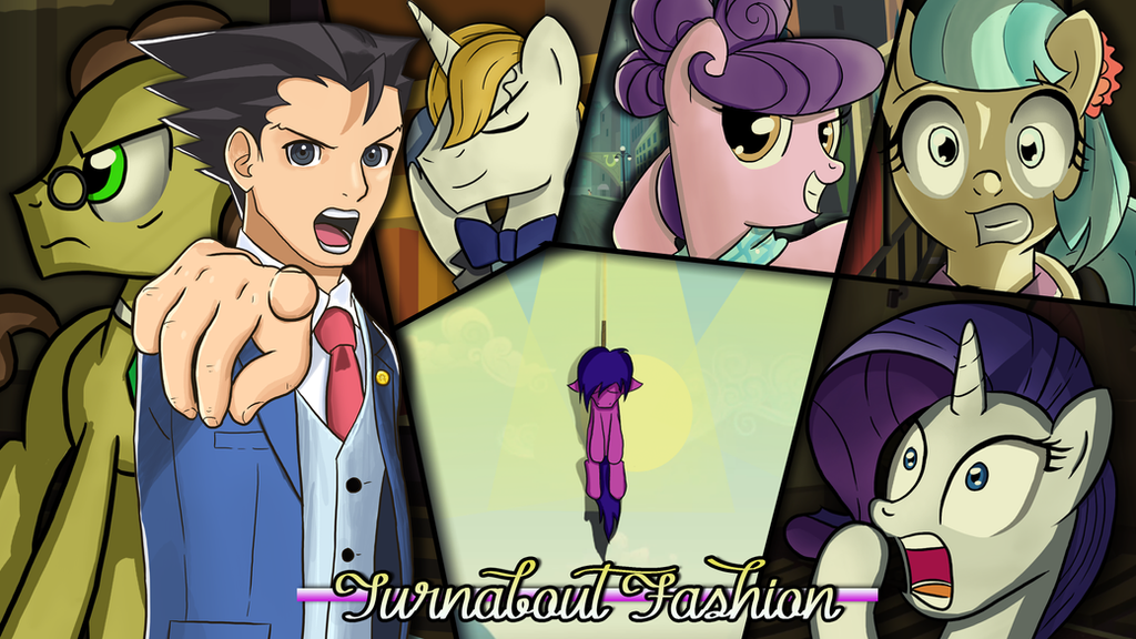 Turnabout Fashion (Title Card) by TheAljavis