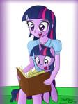 EQG Twi and Pony Twi #1