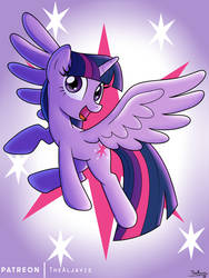 MLP Twilight Sparkle - MAGIC by TheAljavis