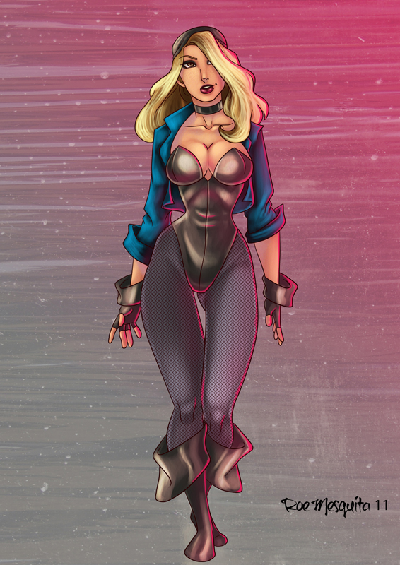 Jessy Black Canary by roemesquita