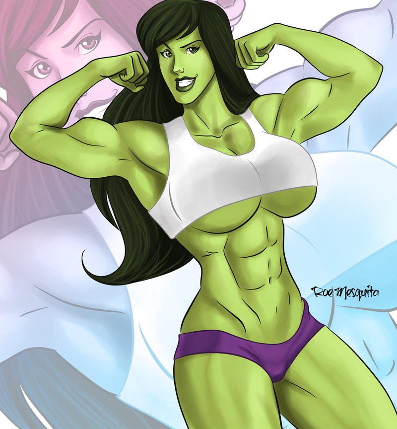 [C] She Hulk by roemesquita
