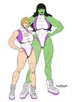 [C] She Hulk and Powergirl