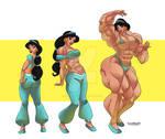 [C] Jasmine Muscle growtth